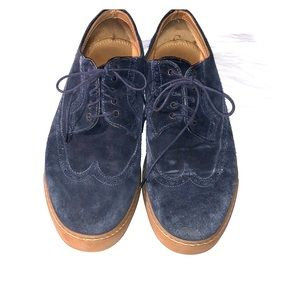 Cole Haan Navy Leather Shoes